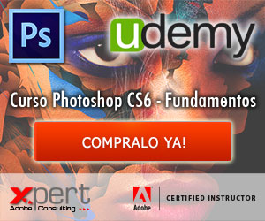 Mi primer curso de Photoshop CS6 en udemy.com