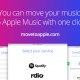 Migrar las listas de Spotify a Apple Music